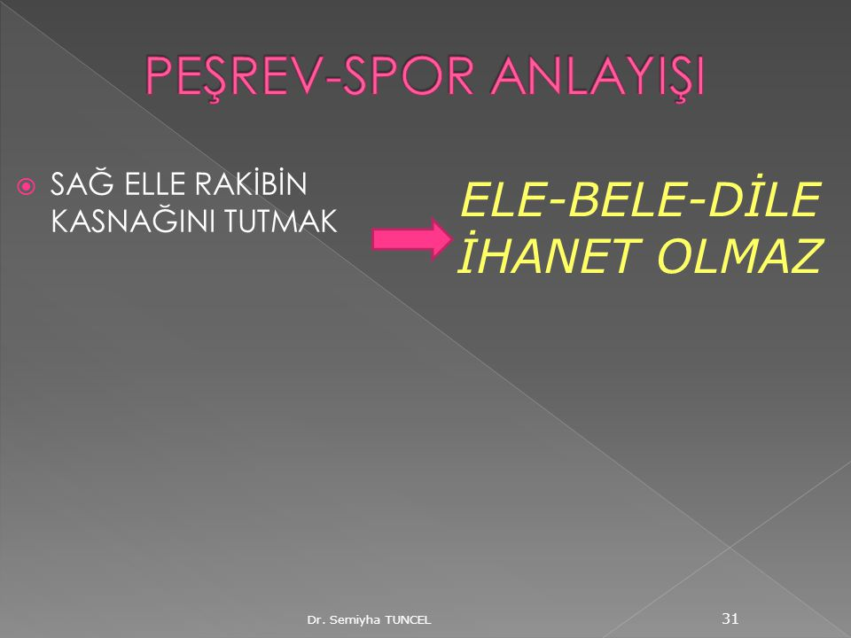 ELE-BELE-DİLE İHANET OLMAZ