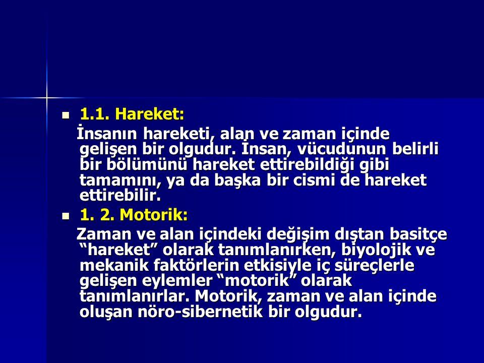 1.1. Hareket: