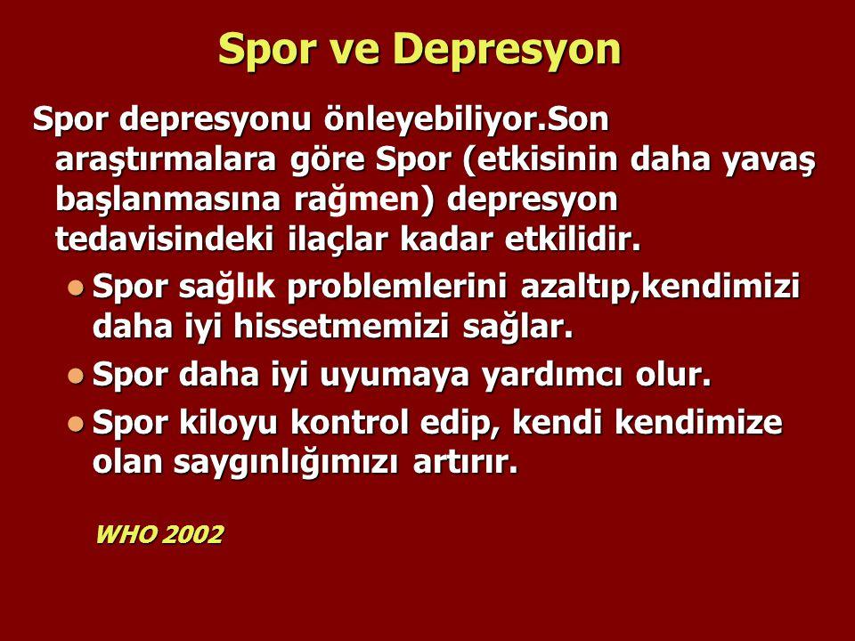 Spor ve Depresyon