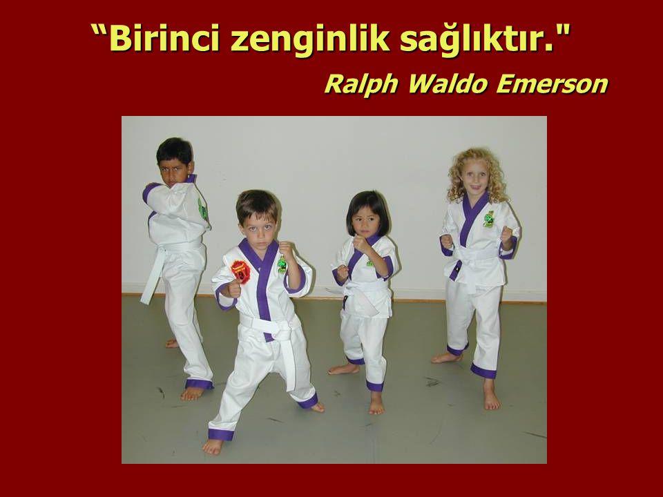 Birinci zenginlik sağlıktır. Ralph Waldo Emerson