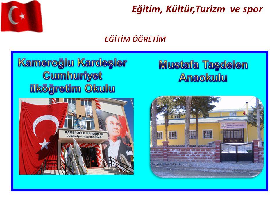 Eğitim, Kültür,Turizm ve spor
