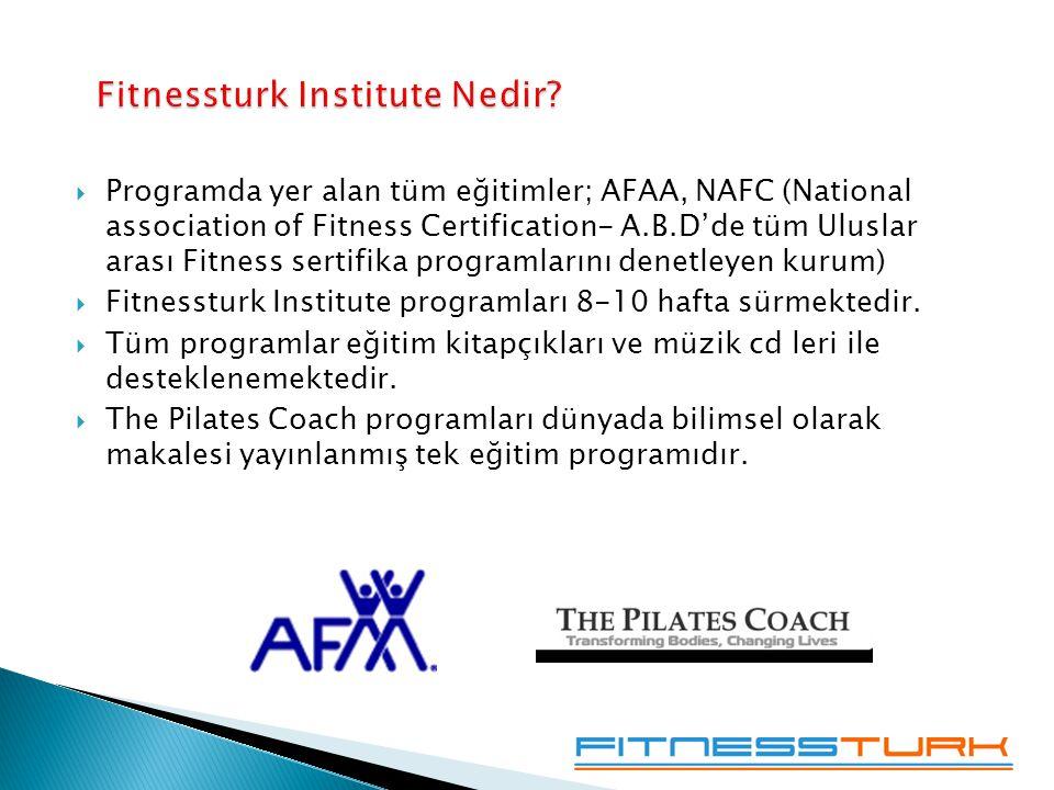 Fitnessturk Institute Nedir