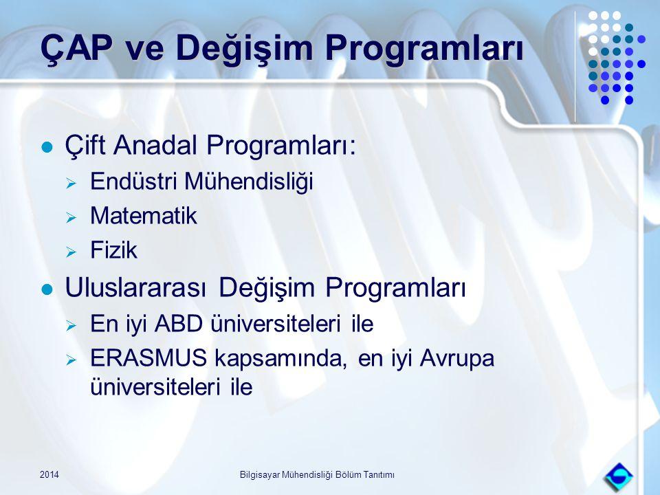 ÇAP ve Değişim Programları