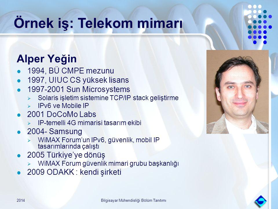 Örnek iş: Telekom mimarı