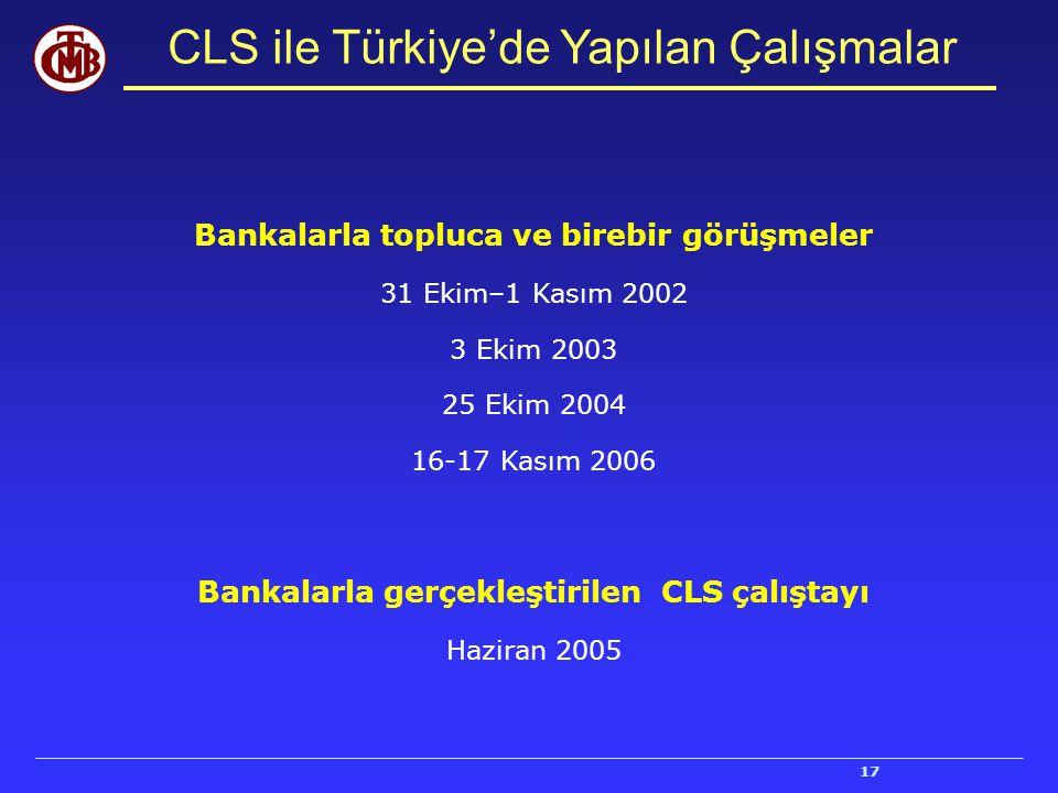 CLS ile Türkiye'de Yapılan Çalışmalar