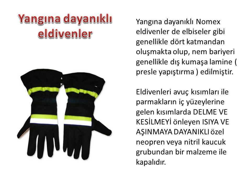 Yangına dayanıklı eldivenler