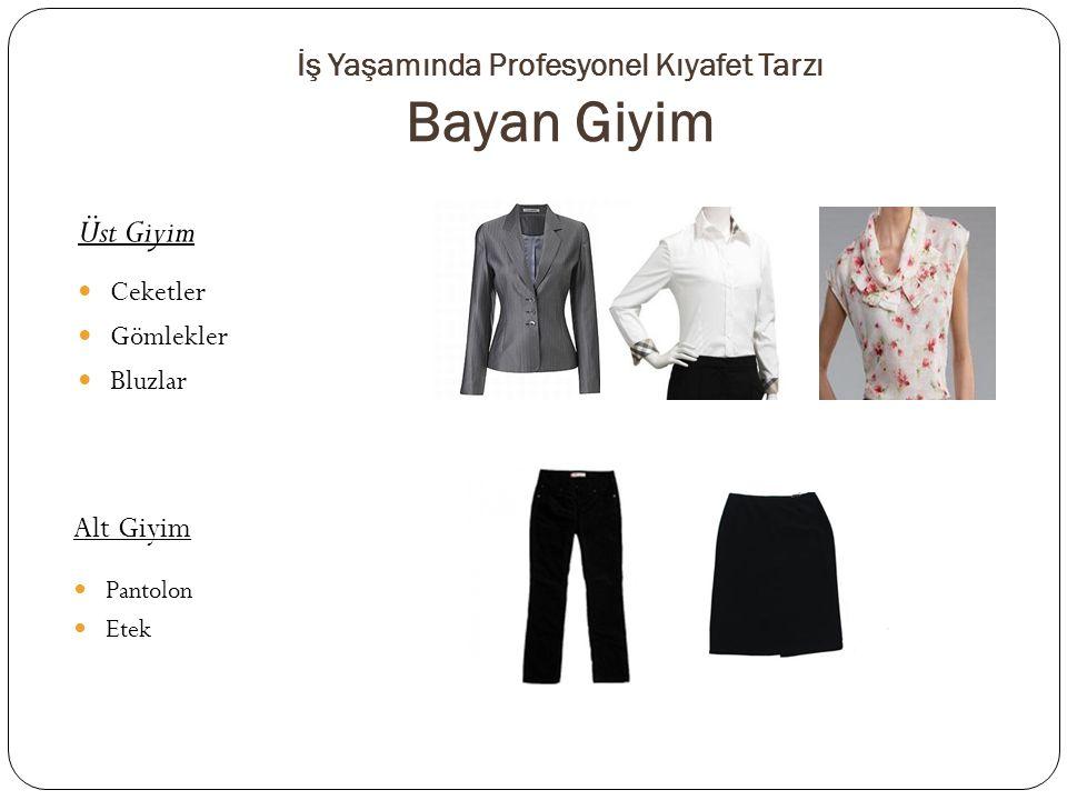 İş Yaşamında Profesyonel Kıyafet Tarzı Bayan Giyim