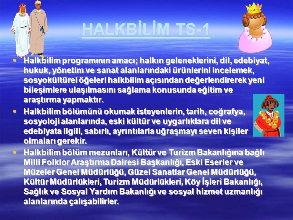 HALKBİLİM TS-1