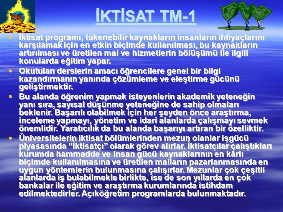 İKTİSAT TM-1