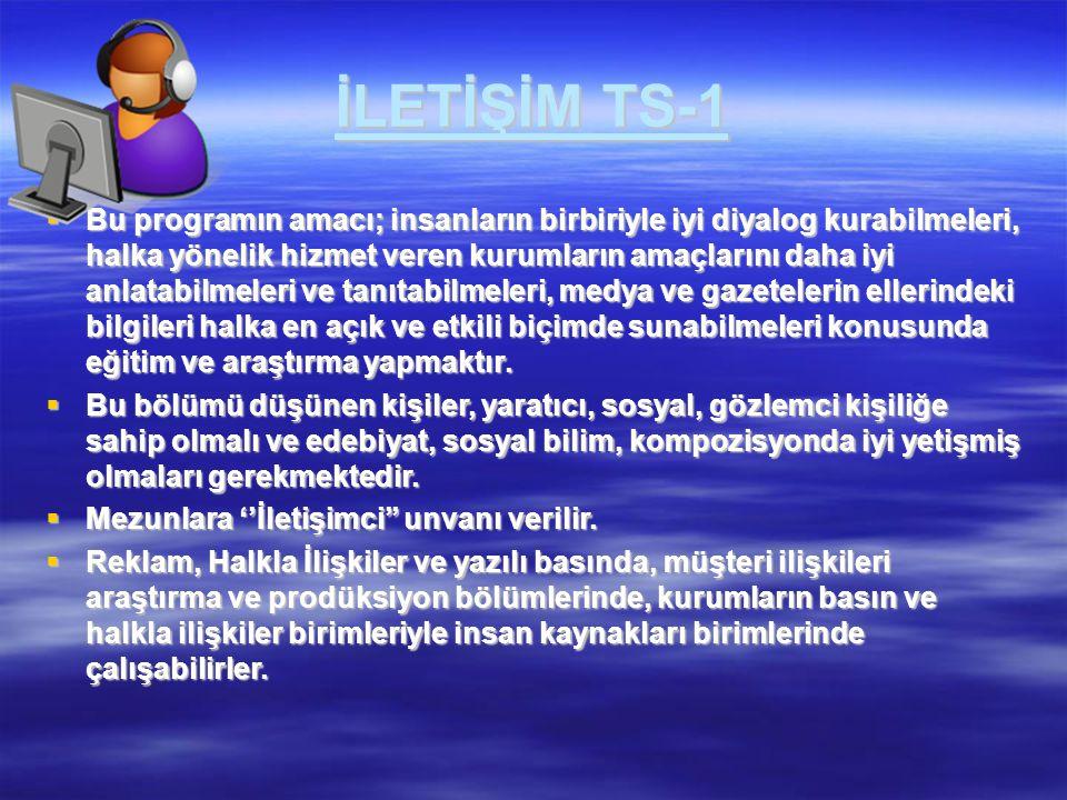 İLETİŞİM TS-1