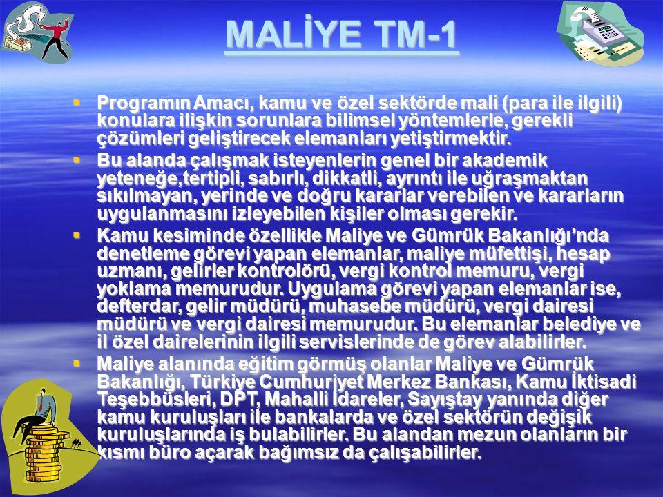 MALİYE TM-1