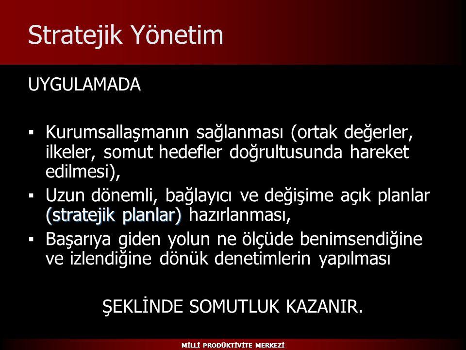 ŞEKLİNDE SOMUTLUK KAZANIR.