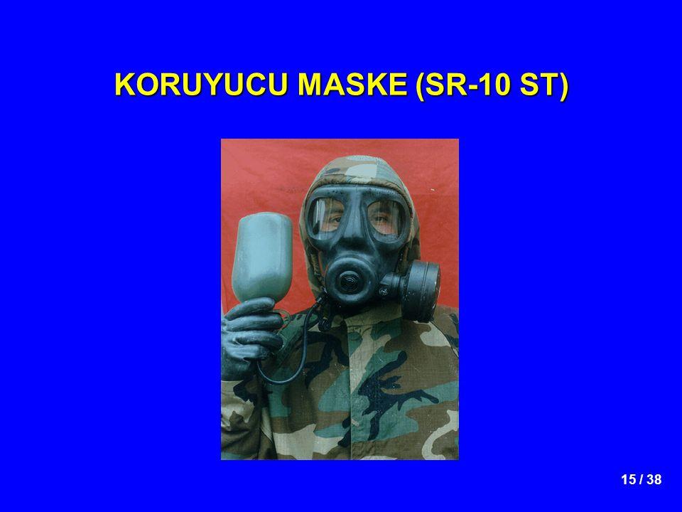 KORUYUCU MASKE (SR-10 ST)