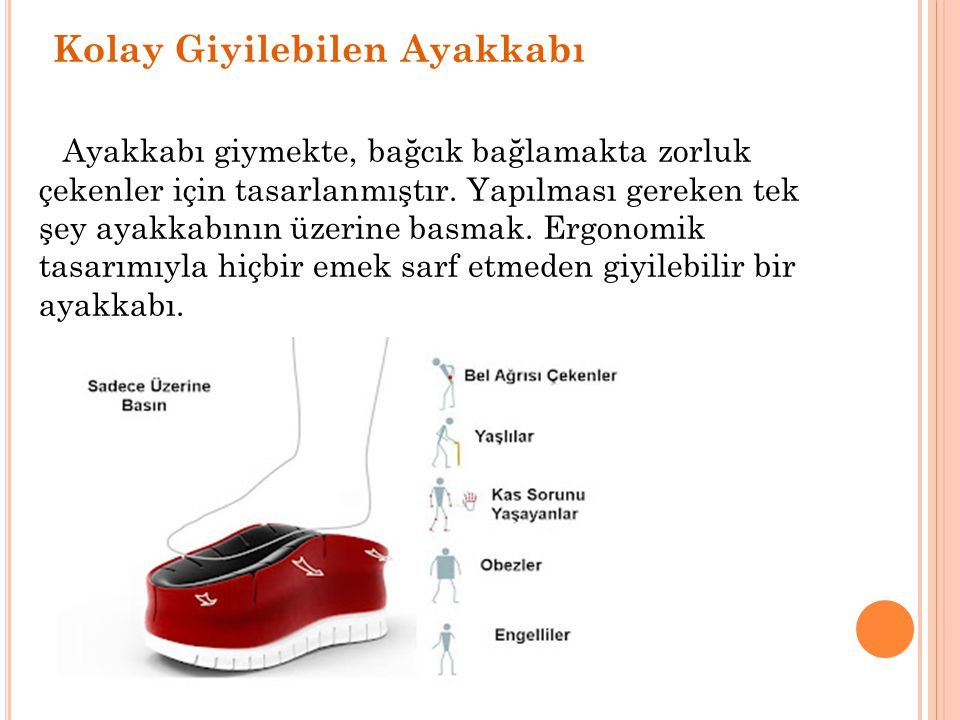 Kolay Giyilebilen Ayakkabı