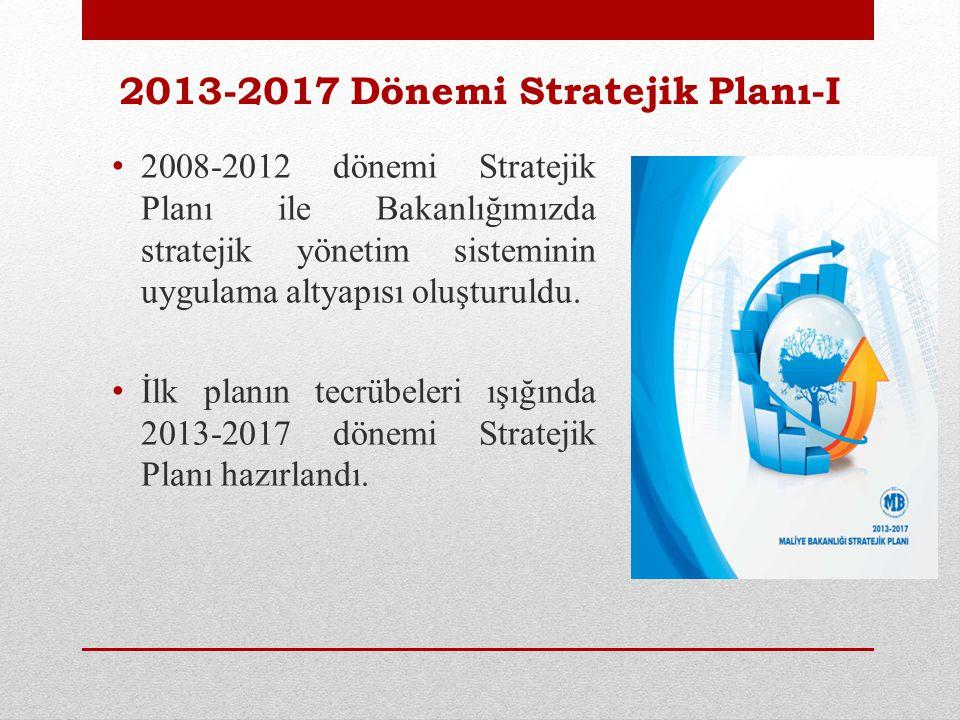 2013-2017 Dönemi Stratejik Planı-I