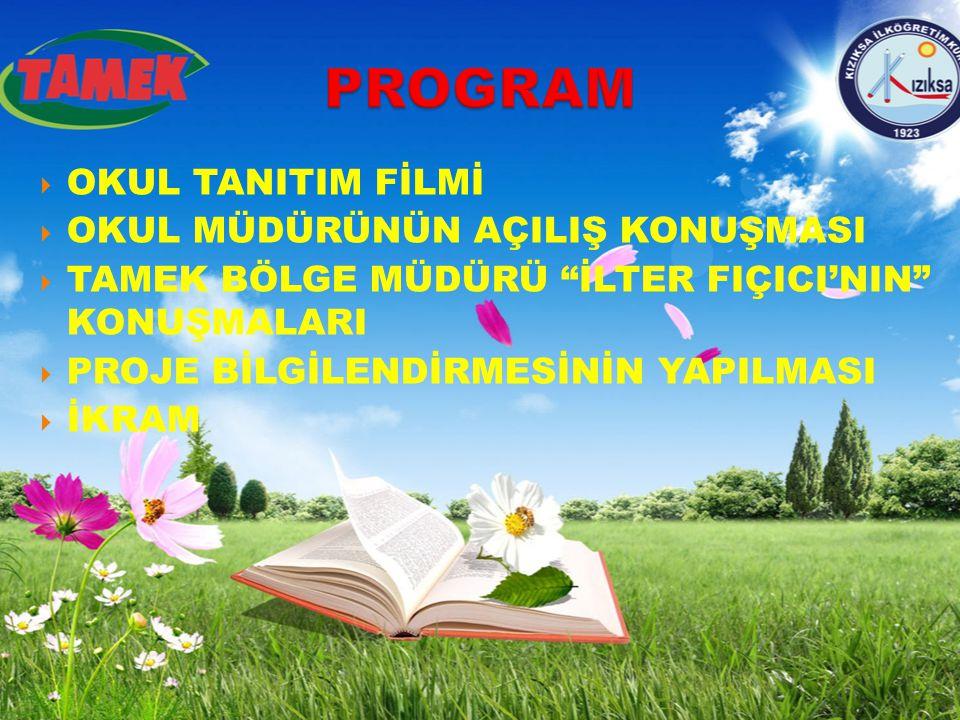 PROGRAM OKUL TANITIM FİLMİ OKUL MÜDÜRÜNÜN AÇILIŞ KONUŞMASI