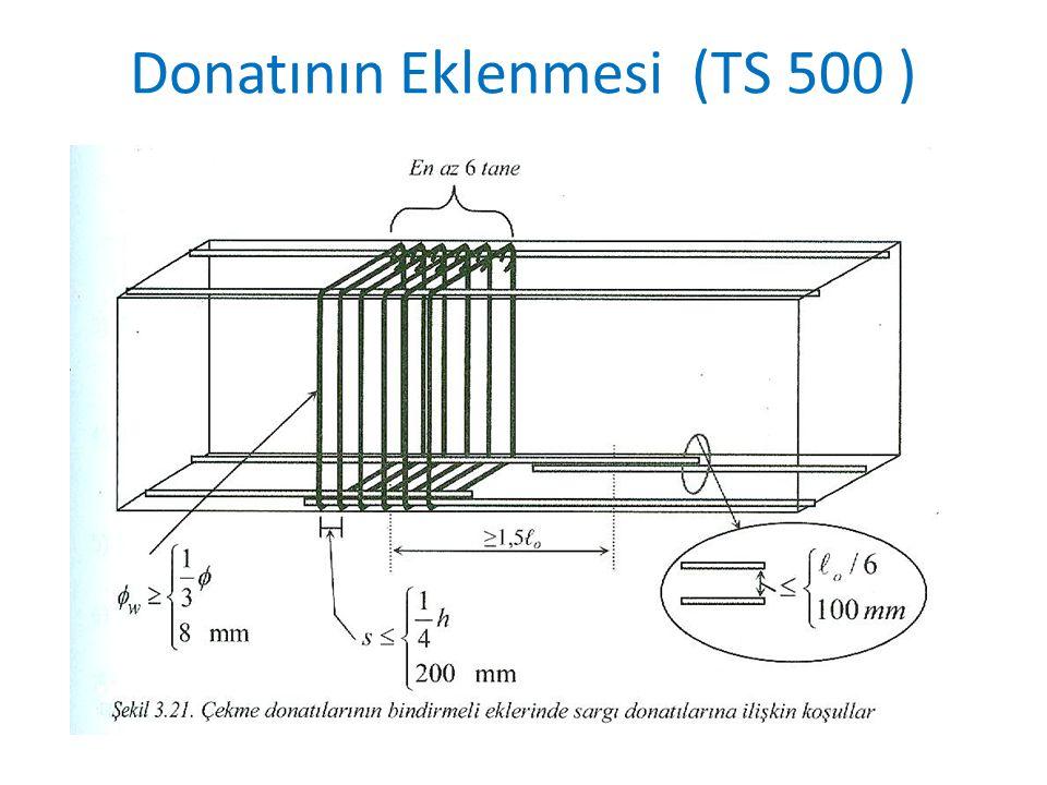Donatının Eklenmesi (TS 500 )