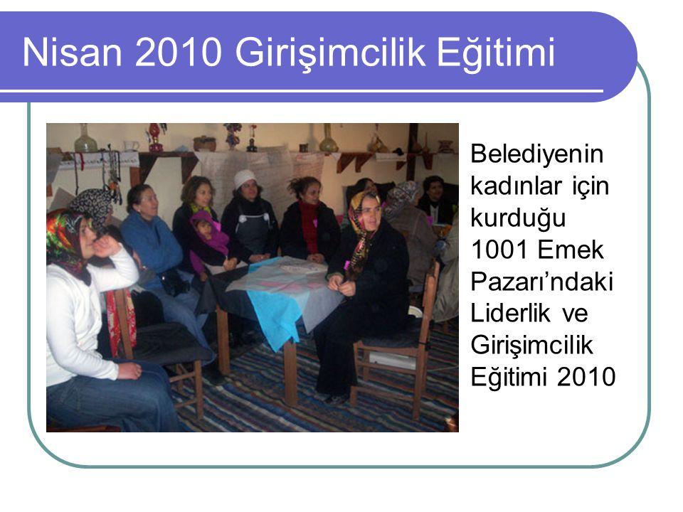 Nisan 2010 Girişimcilik Eğitimi