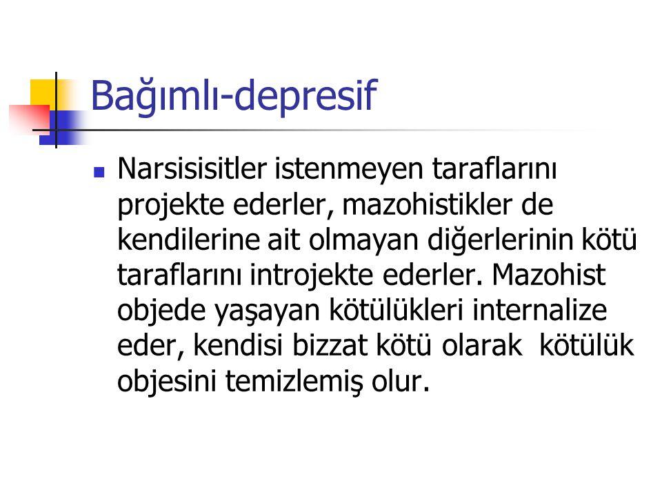 Bağımlı-depresif