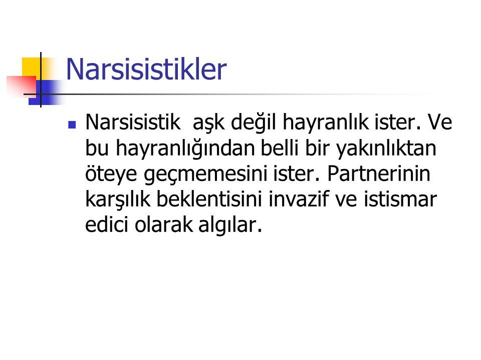 Narsisistikler