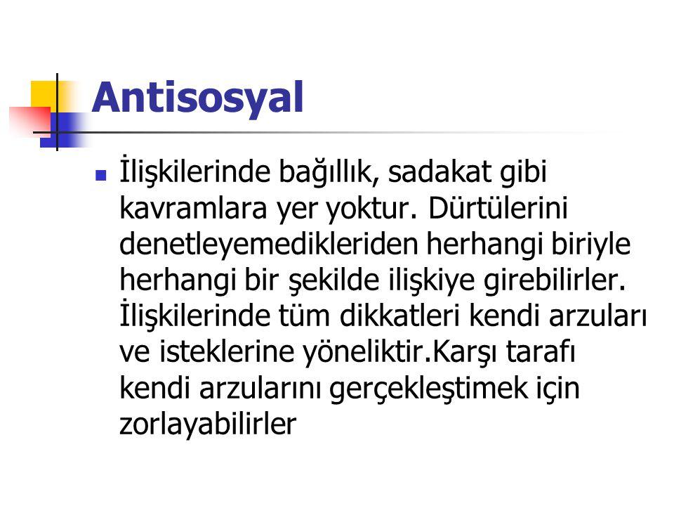 Antisosyal
