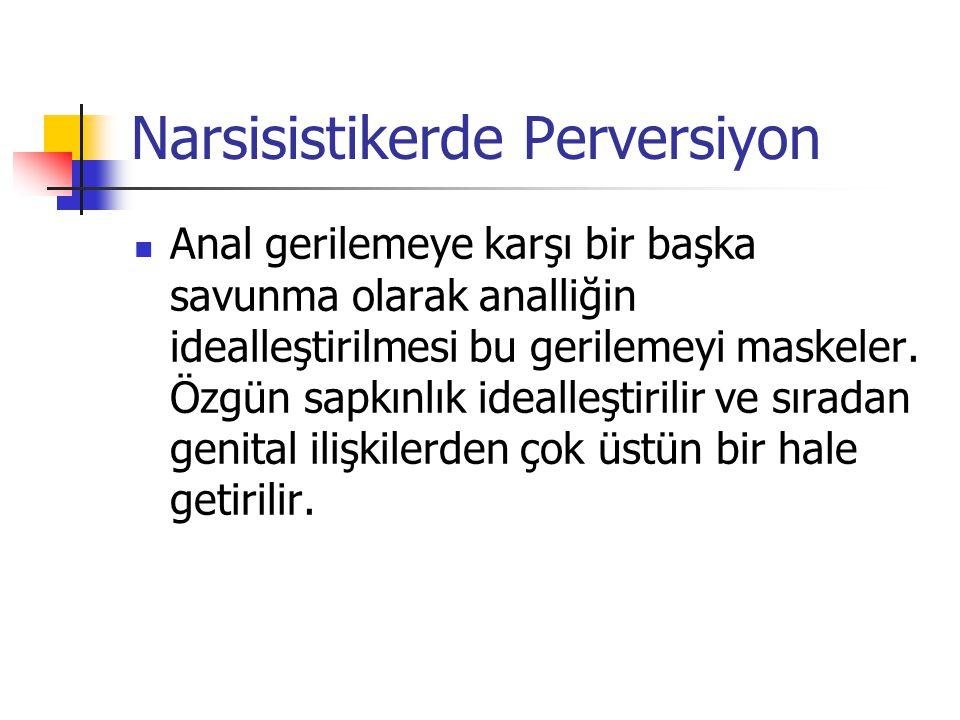 Narsisistikerde Perversiyon