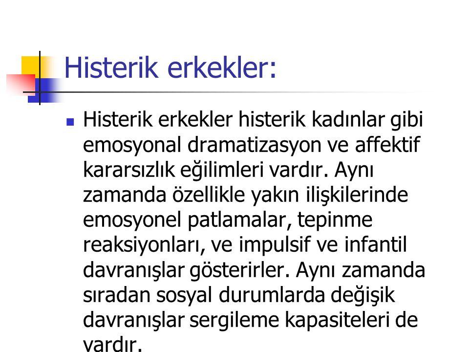 Histerik erkekler: