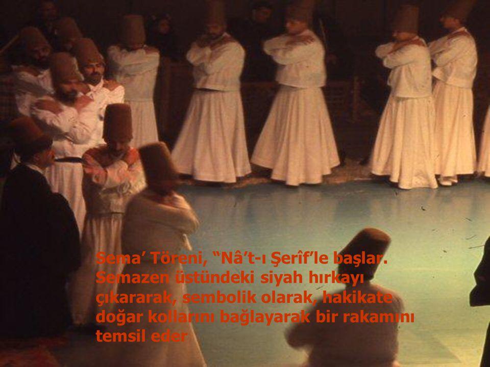Sema' Töreni, Nâ't-ı Şerîf'le başlar