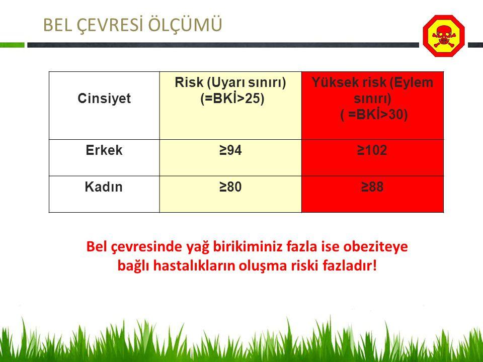 Yüksek risk (Eylem sınırı)