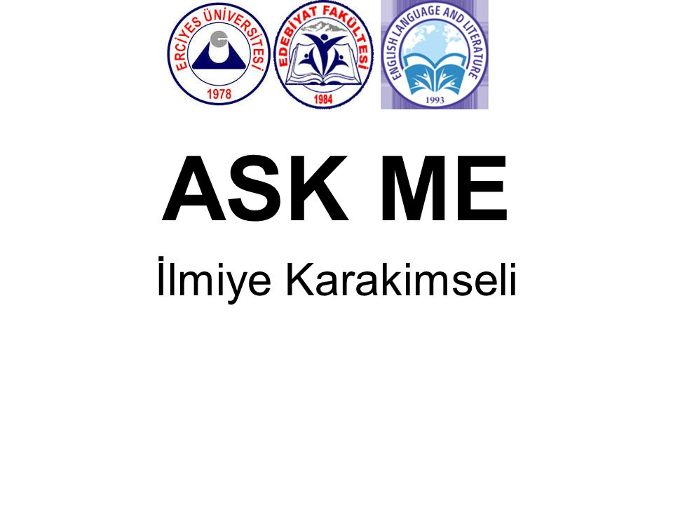 ASK ME İlmiye Karakimseli