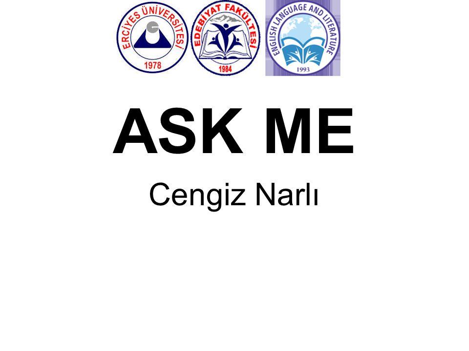 ASK ME Cengiz Narlı