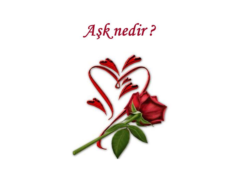 Aşk nedir