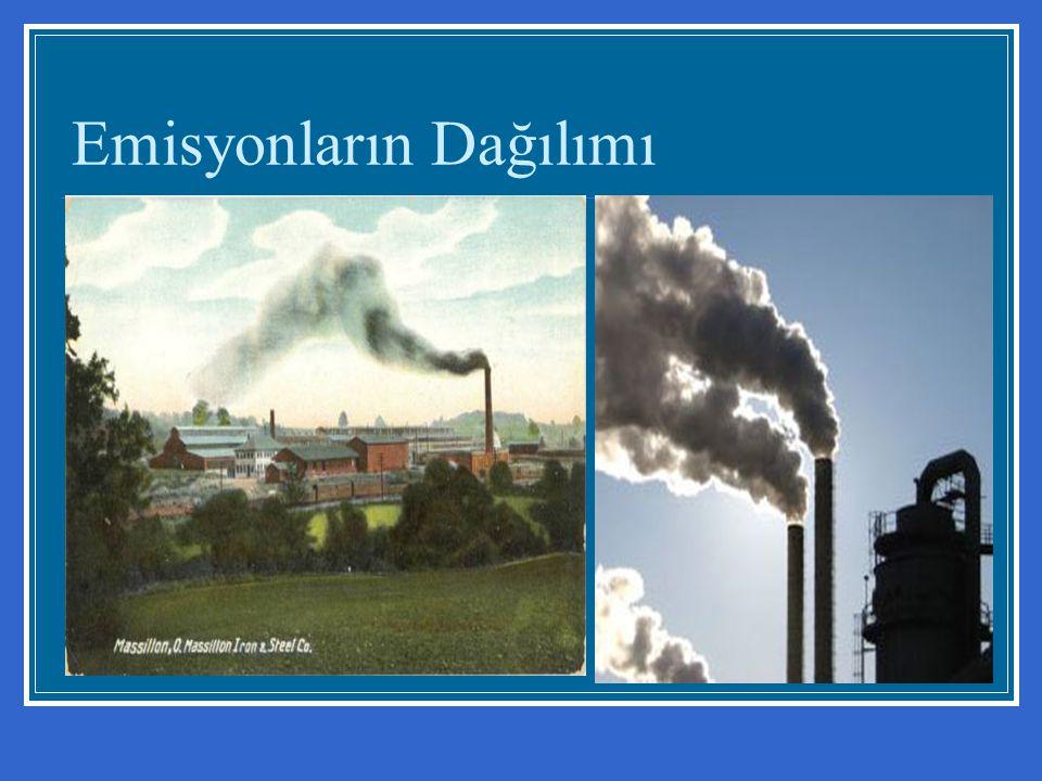Emisyonların Dağılımı