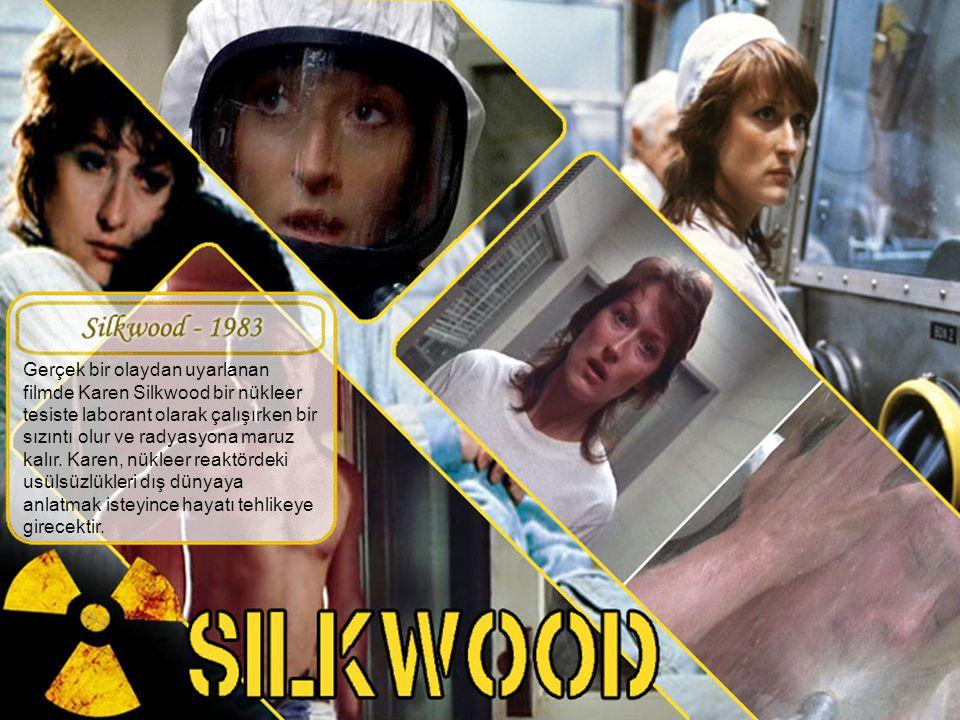 Gerçek bir olaydan uyarlanan filmde Karen Silkwood bir nükleer tesiste laborant olarak çalışırken bir sızıntı olur ve radyasyona maruz kalır.