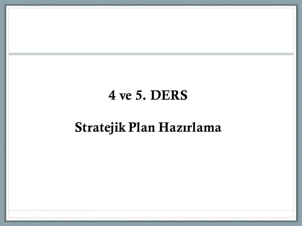 Stratejik Plan Hazırlama