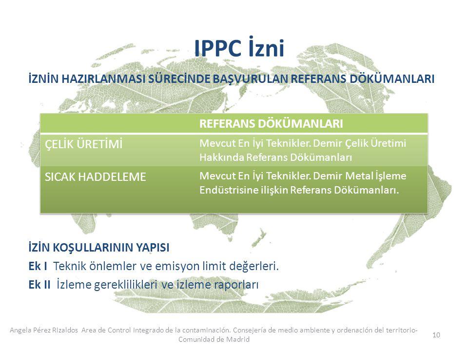 IPPC İzni REFERANS DÖKÜMANLARI ÇELİK ÜRETİMİ