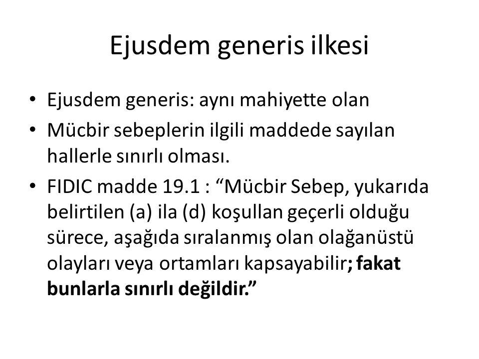 Ejusdem generis ilkesi