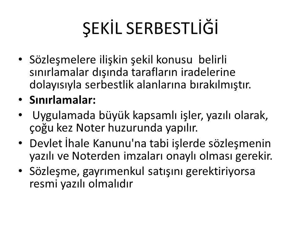 ŞEKİL SERBESTLİĞİ