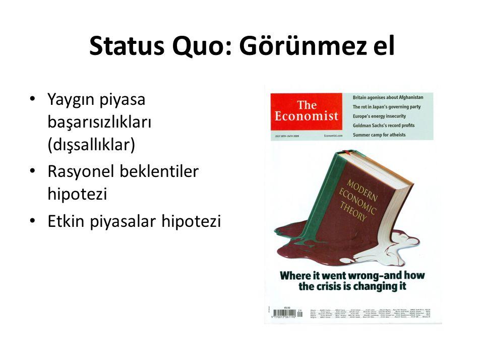 Status Quo: Görünmez el