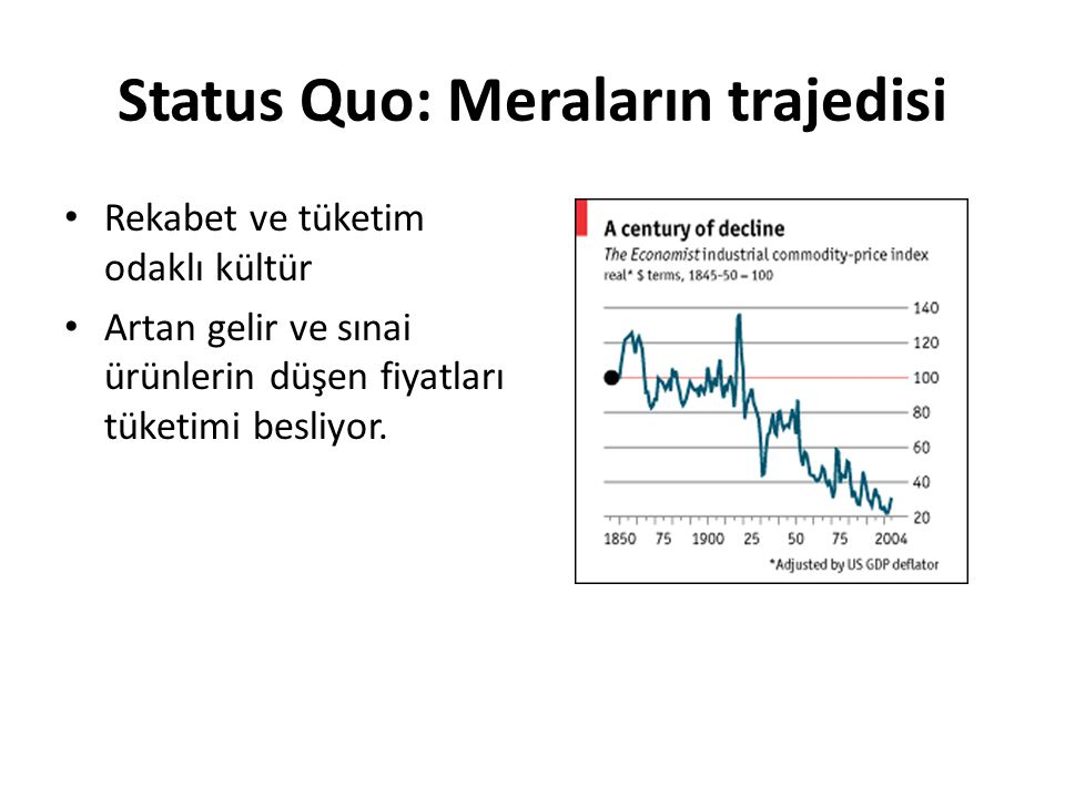 Status Quo: Meraların trajedisi