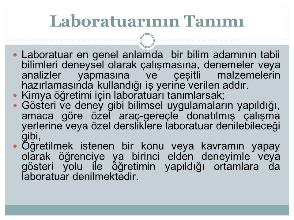 Laboratuarının Tanımı