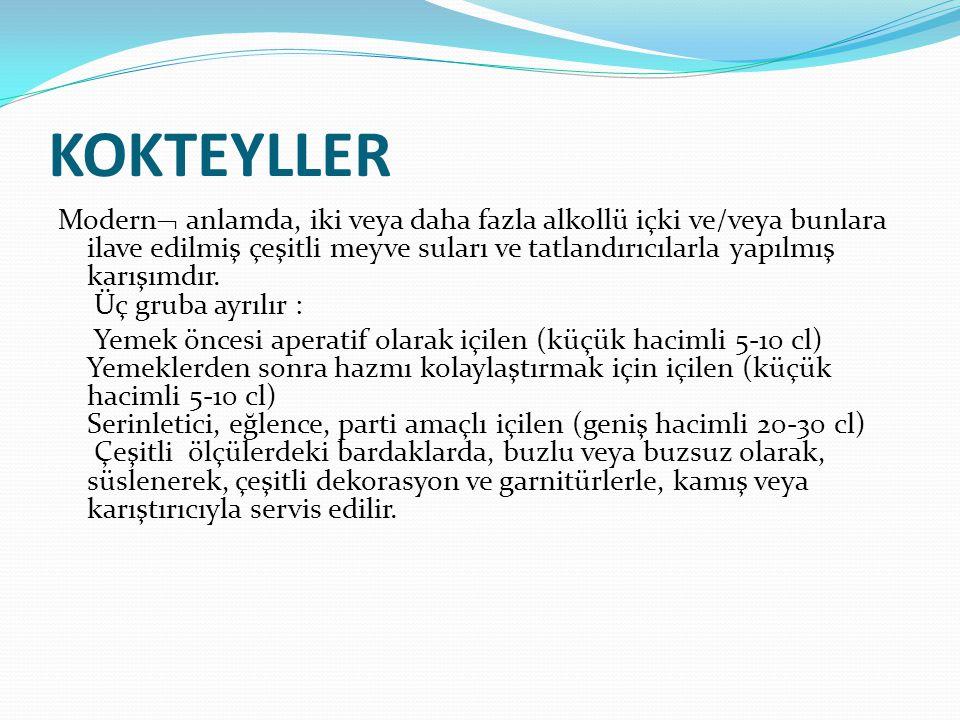 KOKTEYLLER