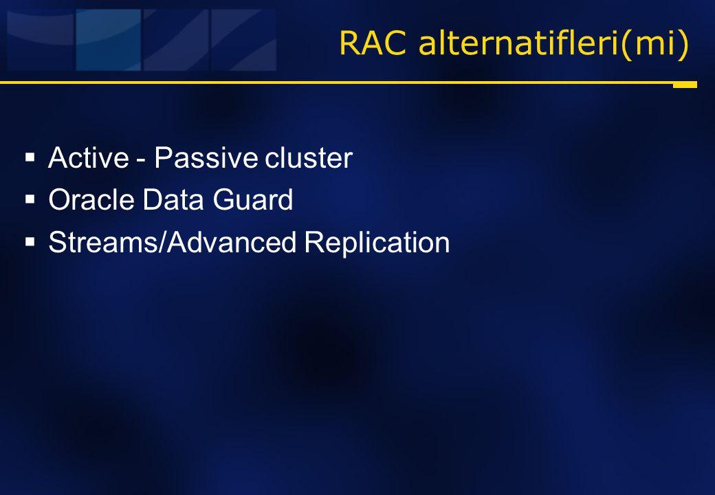 RAC alternatifleri(mi)