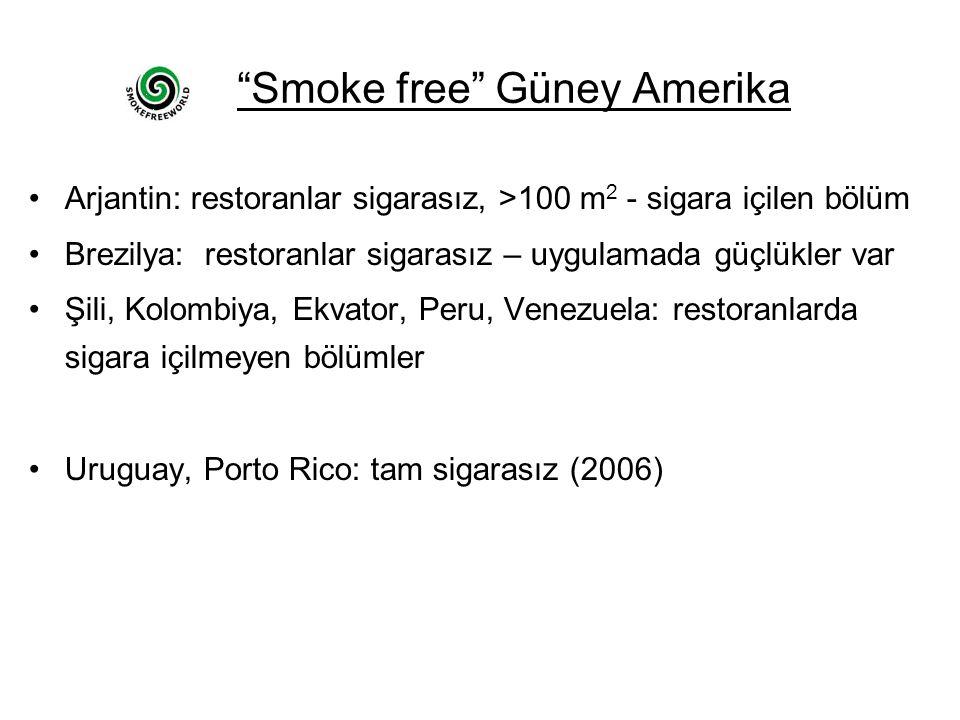 Smoke free Güney Amerika