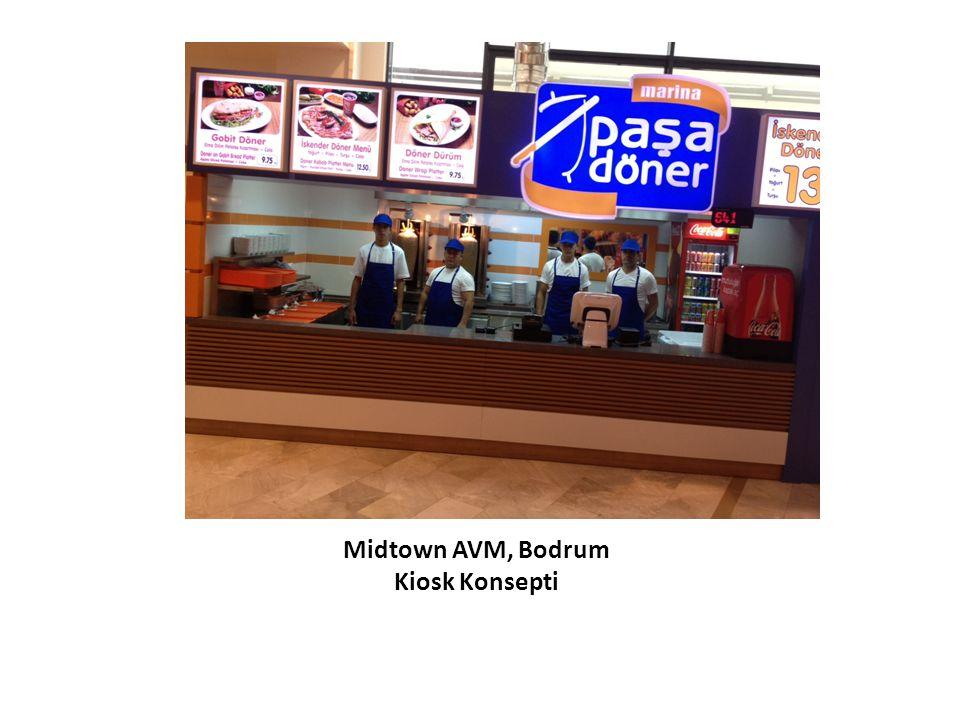 Midtown AVM, Bodrum Kiosk Konsepti