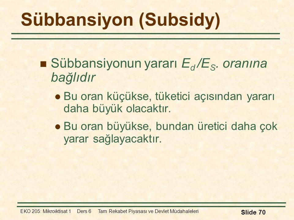 Sübbansiyon (Subsidy)