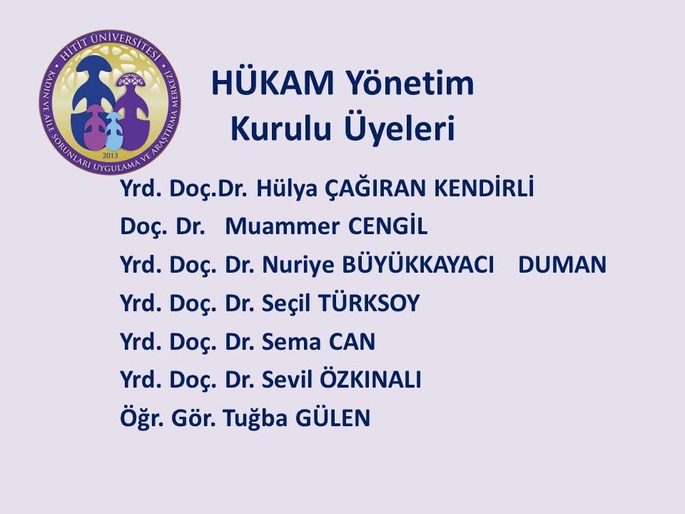 HÜKAM Yönetim Kurulu Üyeleri