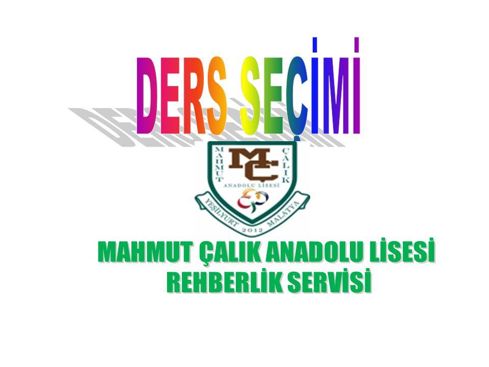 MAHMUT ÇALIK ANADOLU LİSESİ