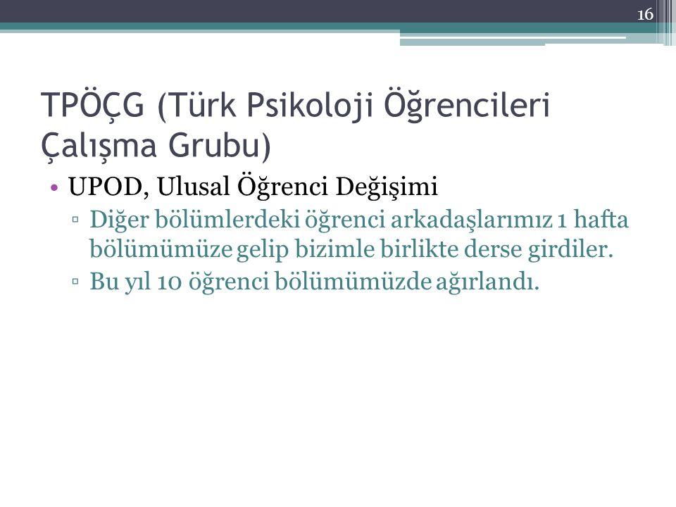 TPÖÇG (Türk Psikoloji Öğrencileri Çalışma Grubu)