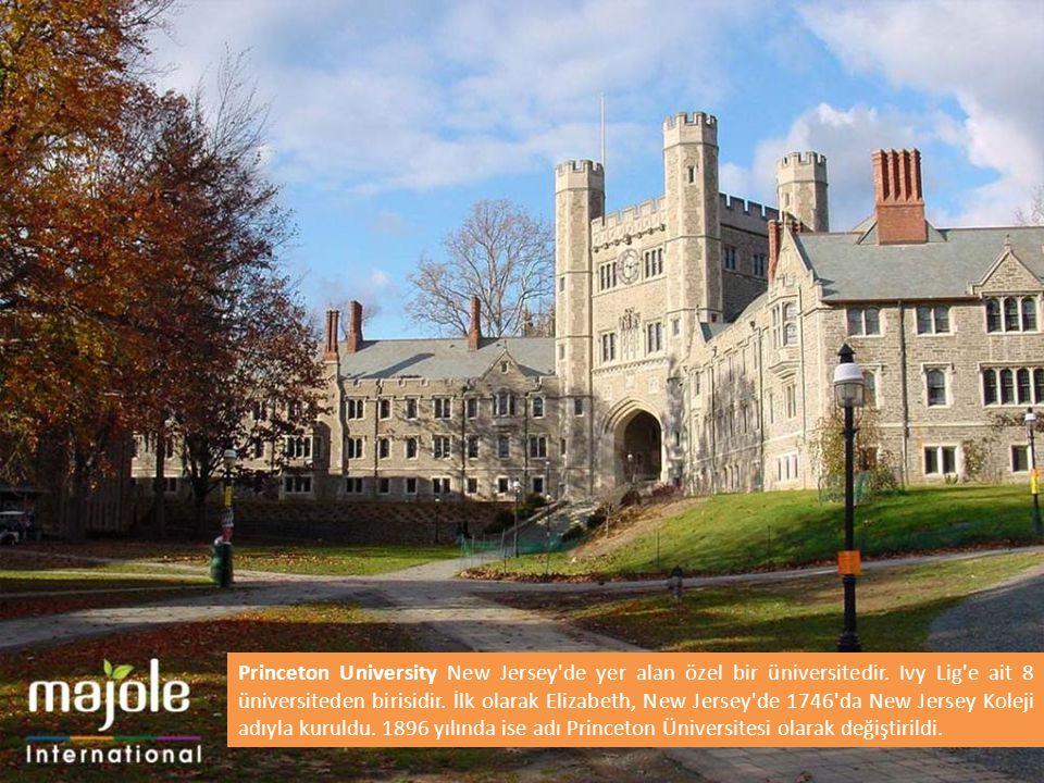 Princeton University New Jersey de yer alan özel bir üniversitedir